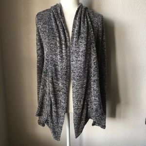 Aeropostale Open Front Hooded Cardigan